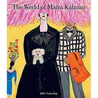 2021 World of Maira Kalman Wall Calendar by Workman Calendars