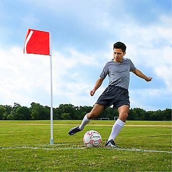 SR022P, Deluxe Soccer Corner Flags Set w/ Springs