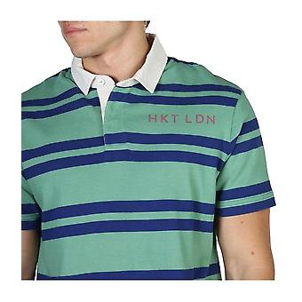 Hackett - Kleding - Polo - HM570732_634 - Mannen - groen,blauw - XXL