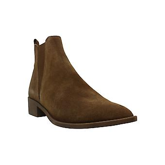 Steve Madden Womens Jerry Leather Pointed Toe Ankle Chelsea Boots