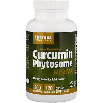 Formules Jarrow, Curcumine Phytosome, 500 mg, 120 Bonnets végétariens