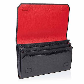 Slate Grey Richmond Leather Travel Wallet Organiser