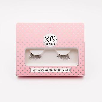 xoBeauty False Lashes - The Flirt - Dramatic Ultra Curled & Winged Out