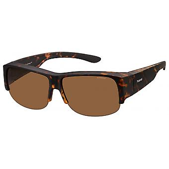 Sunglasses Unisex 9007/SV08/HE square brown/brown