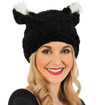 Plüsch-Mütze Katze Kater Kätzchen