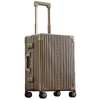 "ALEON Domestic Carry-On HandBagage Trolley 21"" 4 wielen, 40 cm, 36,2 L, brons"