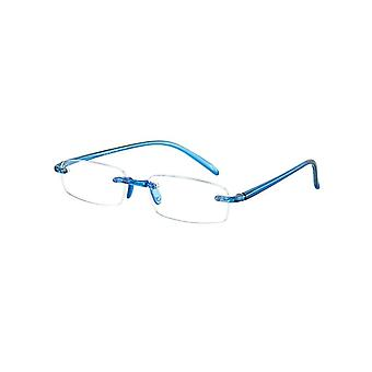 Reading Glasses Unisex Memory Blue Thickness +4.00 (le-0103A)