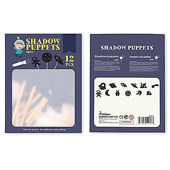 Children Shadow Puppets Toy - Interesting Educational Silhouette Parent-child Interaction Cognition Game