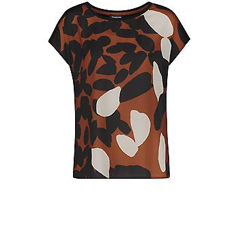 Taifun Silky Patterned Front Top