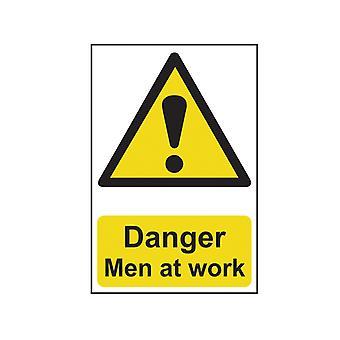 Scan Nebezpečí Muži v práci - PVC 200 x 300mm SCA1200