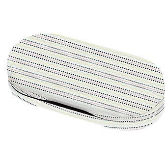 Objektiv/Brillenrohr 16,5 cm Metall weiß