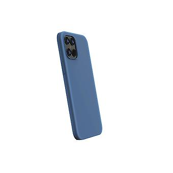 iPhone 12 Pro Max Case Mat Blue - Ultra thin & strong with super fine grip!