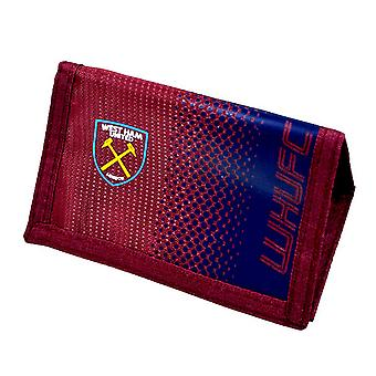 West Ham FC officiel Fade Football Wallet