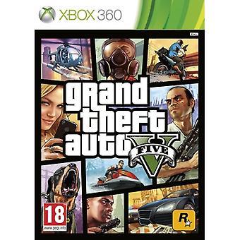 Grand Theft Auto GTA V (Five 5) Game XBOX 360