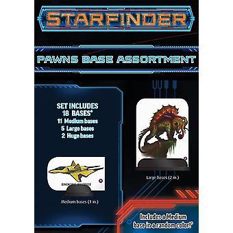 Starfinder RPG Pawn Base Assortiment (willekeurig geselecteerde stijl)