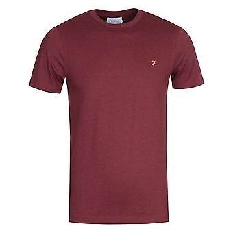 Farah Danny Red Marl T-Shirt