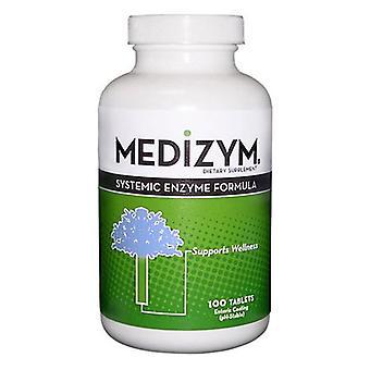 Naturally Vitamins Medizym Systemic Enzyme Formula, 100 Tabs