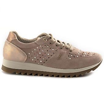 Sapato feminino Igi&co Eden 5165311 Rosa com Strass