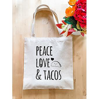 Peace, Love & Tacos - Tote Bag