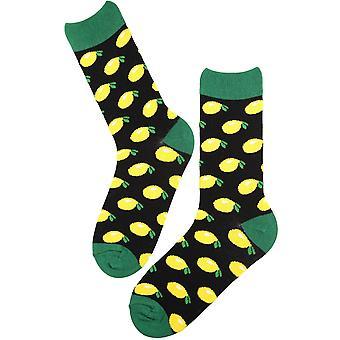 Limon Örme Desen Pamuk Çorap