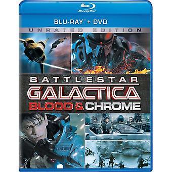 Battlestar Galactica: Blood & Chrome [Blu-ray] USA import