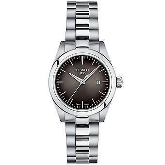 Tissot T132.010.11.061.00 Damen T-my Lady Schwarz Zifferblatt Silber Edelstahl Uhr