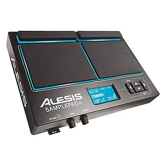 Alesis sample pad 4 - compact percussion and sample triggering instrument with 4 velocity sensitive