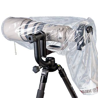 Op/tech 9001252 mega regnärm för kamera (förpackning med 2) - klar mega 25-tums