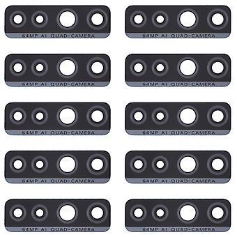 10 PCS Back Camera Lens pour Huawei P40 Lite 5G / Nova 7 SE