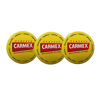 Carmex Lip Balm Pot (Original) (3-PACK)