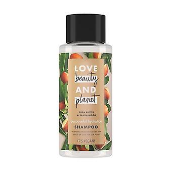 Shea Butter Shampoo and Sandalwood Oil 400 ml