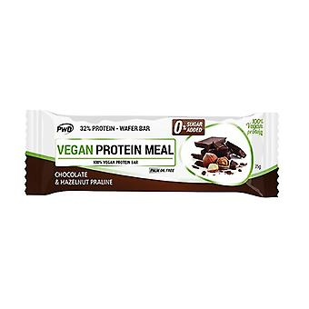 Vegan Protein Meal Chocolate Bar with Hazelnut Praline 35 g