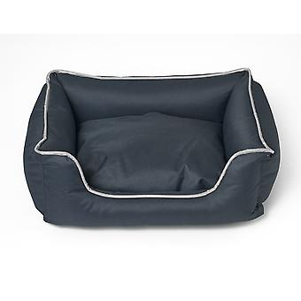 Dog- cat pillow Bora - Dark grey - Size S
