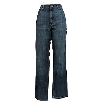 Lee Men's Straight Jeans 36x32 Five Pocket Relaxed Fit Blue