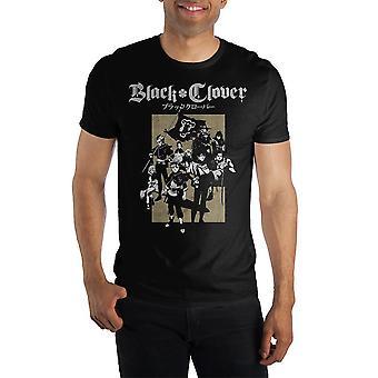 Black clover manga t shirt