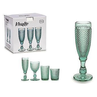 Wineglass Vivalto Crystal (180 ml) (7 x 20 x 7 cm)