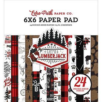 Echo Park Let & s Lumberjack 6x6 Inch Paper Pad Echo Park Let & s Lumberjack 6x6 Inch Paper Pad Echo Park Let & s Lumberjack 6x6 Inch Paper Pad Echo Park Let &amp