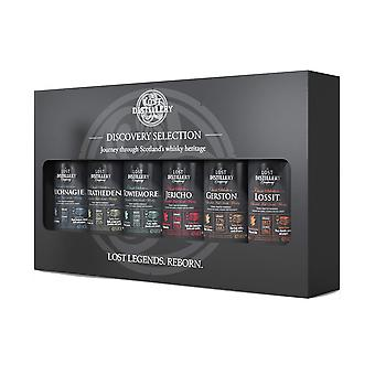 The discovery selection by the lost distillery company - limited edition gift pack of 6 x 5cl miniat
