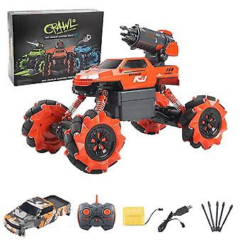 Electric Bubble, Missile Launcher Car With Wireless Remote Contro Toy
