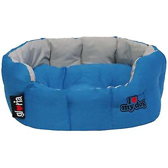Gloria Pets Round Cot, Creation - I Love My Dog (Dogs , Bedding , Beds)