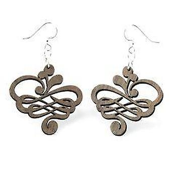 Small Calligraphy Earrings