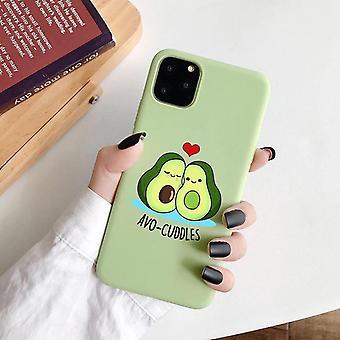 iPhone 12 Pro Max schil avocado knuffels avo-knuffels groen