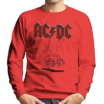 AC/DC Mosquito Sketch Men's Sweatshirt