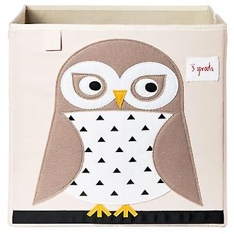3 Sprouts Cube - White Owl (Home & Garden , Decor , Home Fragrances , Air Fresheners)