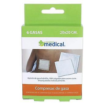 BigBuy Sterilized gauze 6 units