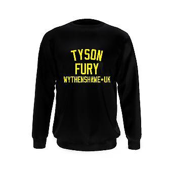 Tyson Fury Boxen Legende Sweatshirt