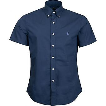 Polo Ralph Lauren Short Sleeved Cotton Poplin Shirt