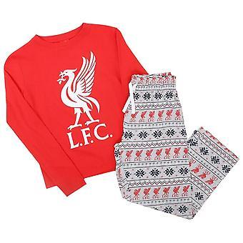 Liverpool FC Baby Christmas Pyma Set
