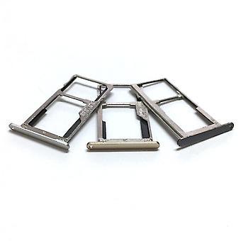 Sim Tray Holder Card Slot Adaptateur de fente Pièces de réparation pour Lenovo K6 Note