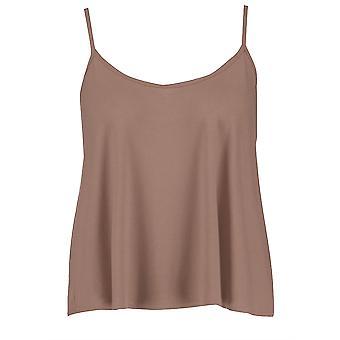 Ladies Plain Sleeveless Flared Camisole Vest Top